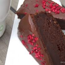 Laktosefri chokoladekage