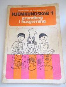 Hjemkundskabsbog fra 70'erne