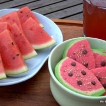 Vandmelon småkager til store og små
