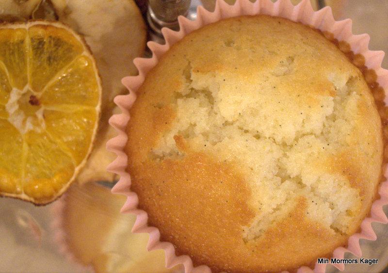 Vanillemuffins med mandarin