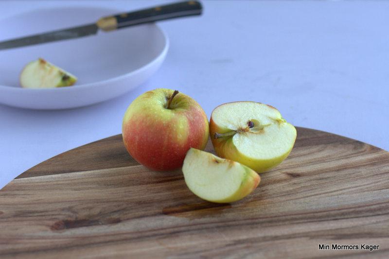 Der blev fotograferet æbler i stor stil hos Fru Knips :-)