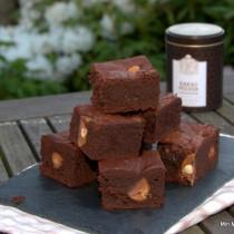 Brownie med toffifee