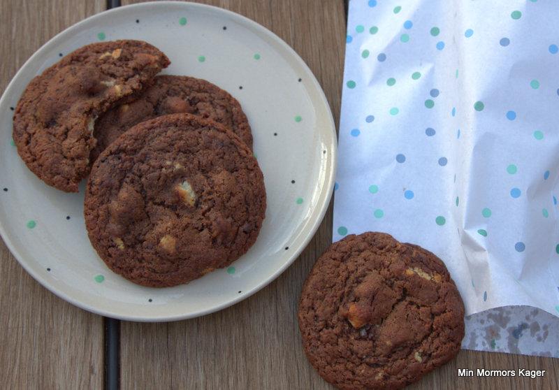 Chokoladecookies uden æg
