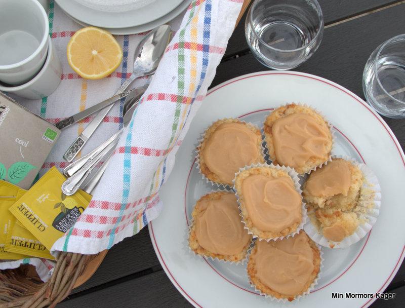 Citronmuffins med karamel